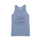 CURIOUSER AND CURIOUSER Unisex Tank Top