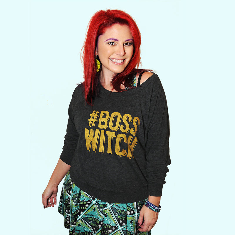 BOSS WITCH Light Weight Raglan Pullover