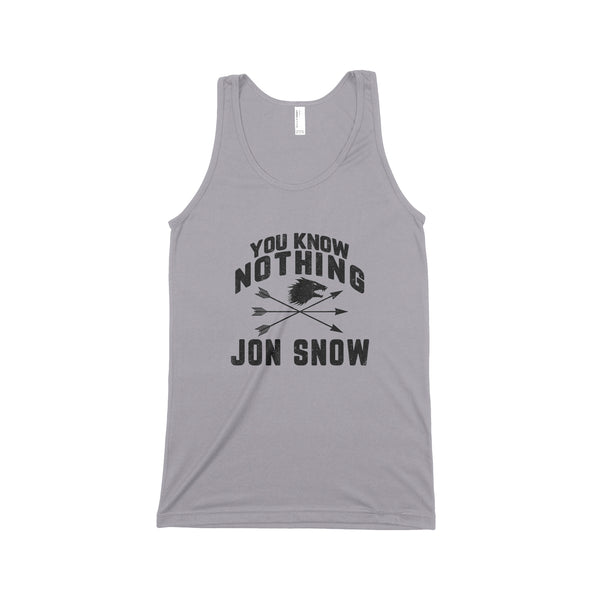 YOU KNOW NOTHING Unisex Tank Top