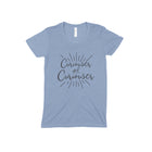 CURIOUSER & CURIOUSER Women/Junior Fitted T-Shirt