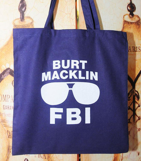 SALE -- BURT MACK, FBI tote bag.