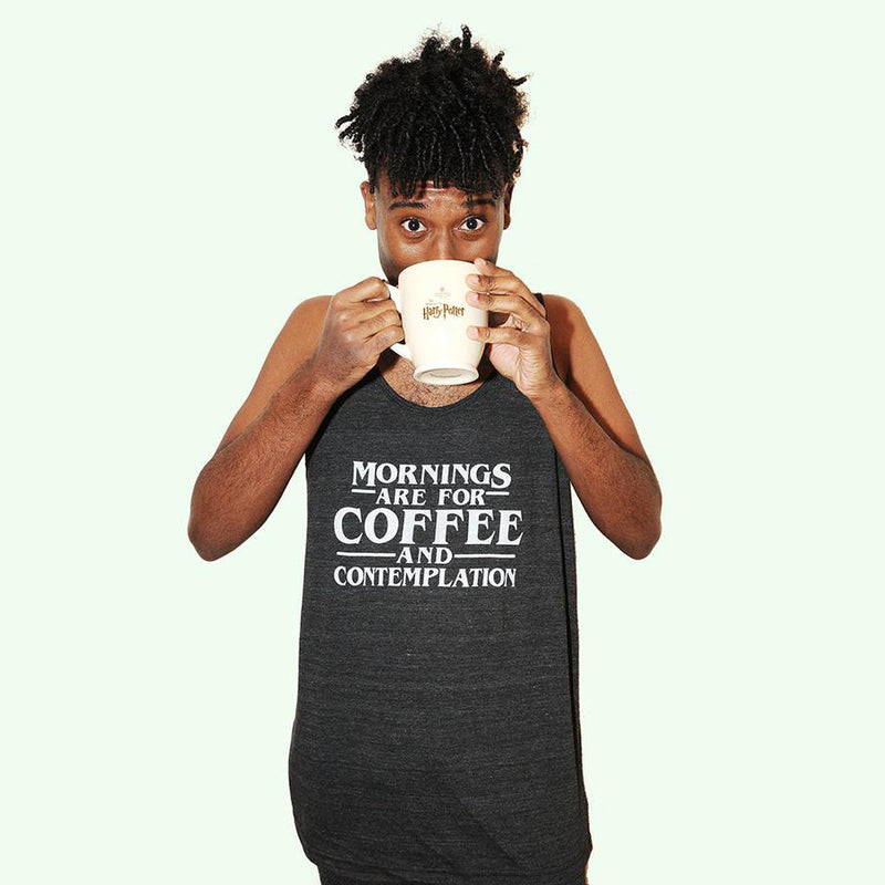 COFFEE & CONTEMPLATION Unisex Tank Top