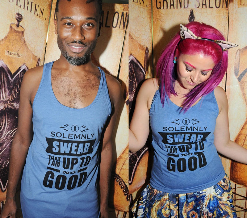 UP TO NO GOOD Unisex Tank Top