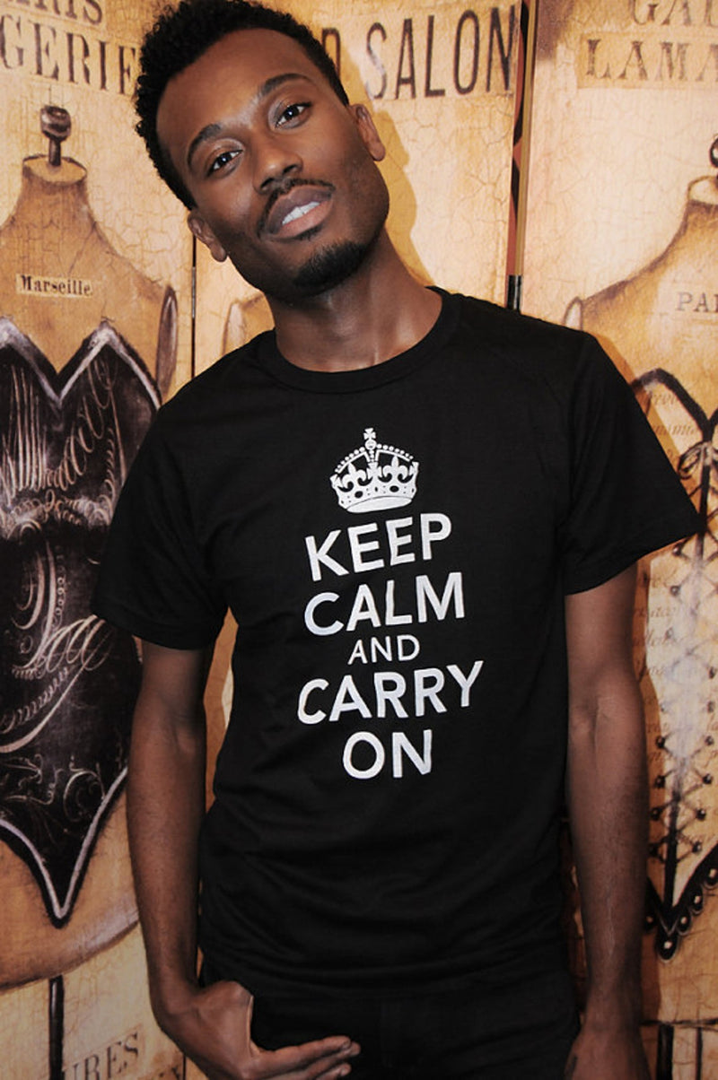 KEEP CALM & CARRY ON Unisex T-shirt