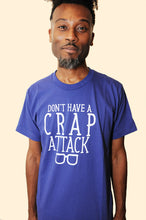 SALE -- C R A P ATTACK shirt.  American Apparel 50/50 unisex, sizes small to 2xl.
