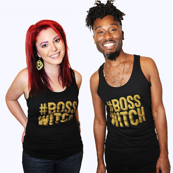 BOSS WITCH Unisex Tank Top