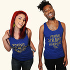 BOOKS ARE MAGIC Unisex Tank Top