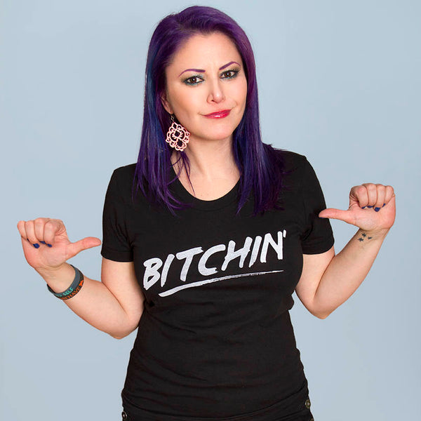 BITCHIN' Women/Junior Fitted T-Shirt