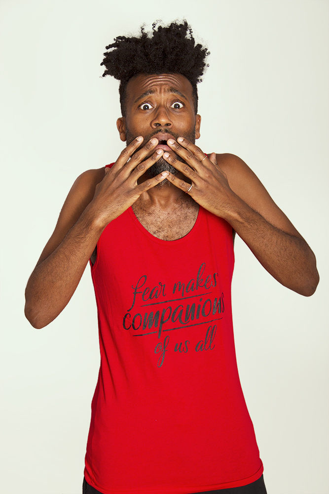 FEAR MAKES COMPANIONS Unisex Tank Top