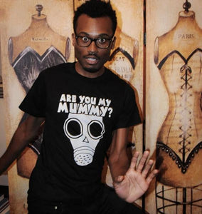 SALE -- Are You My Mummy? shirt. Men's/Unisex American Apparel size small, medium, large, XL and 2XL.