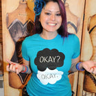 OKAY? OKAY.  Women/Junior Fitted T-Shirt
