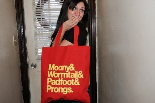 The Marauders tote bag.