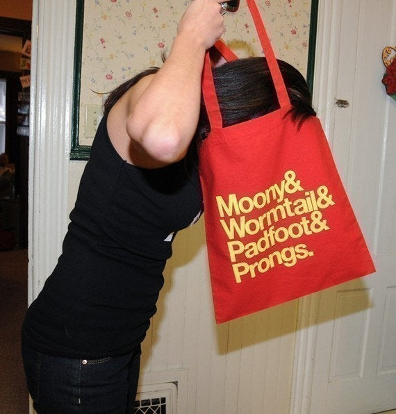 MARAUDERS tote bag.