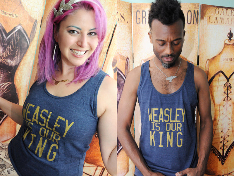 GEEKY KING Unisex Tank Top
