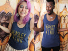 DON'T LET THEM GET YOU DOWN Unisex Tank Top
