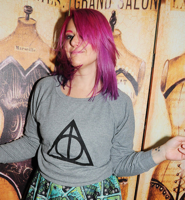 WIZARD SYMBOL Light Weight Raglan Pullover