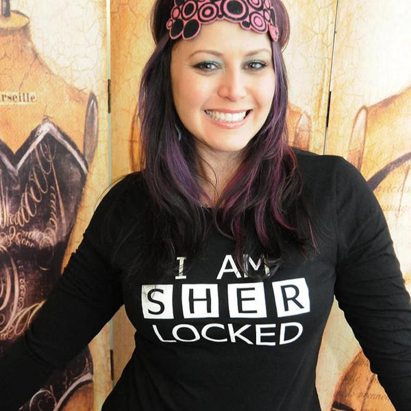 SHER LOCKED Women's Long Sleeve