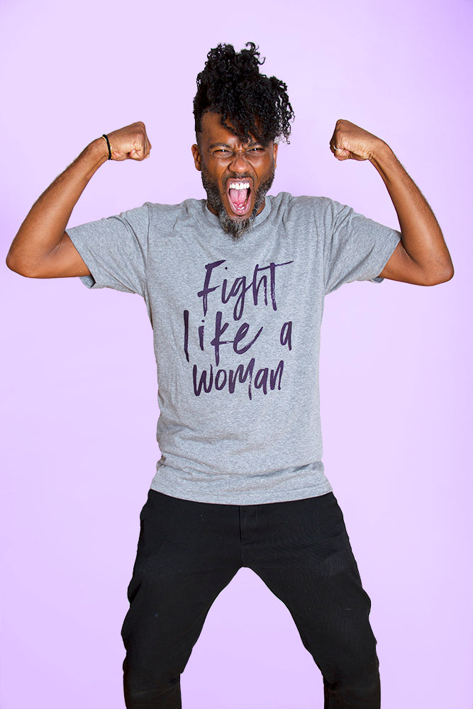 FIGHT LIKE A WOMAN Unisex T-Shirt