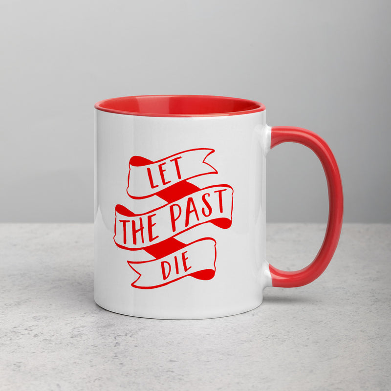 THE PAST Mug with Color Inside