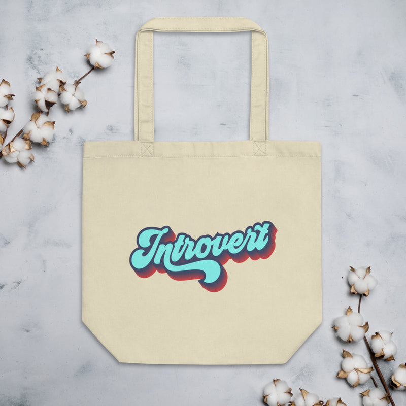 INTROVERT Eco Tote Bag