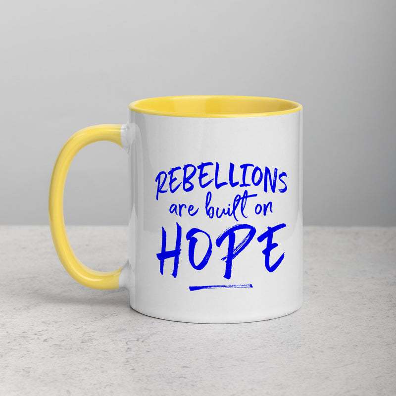 REBELLIONS Mug with Color Inside