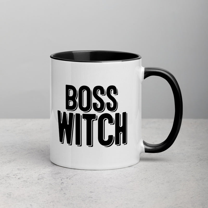 BOSS WITCH Mug with Color Inside