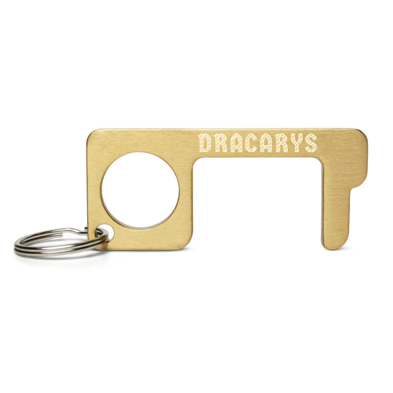 DRACARYS Engraved Brass Touch Tool
