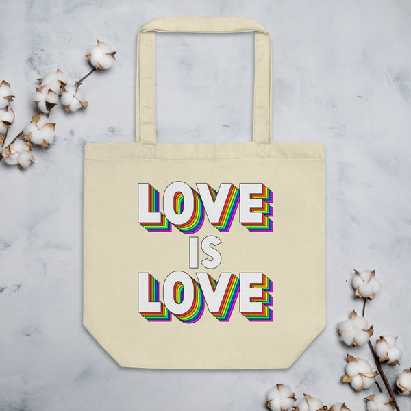 LOVE IS LOVE Eco Tote Bag