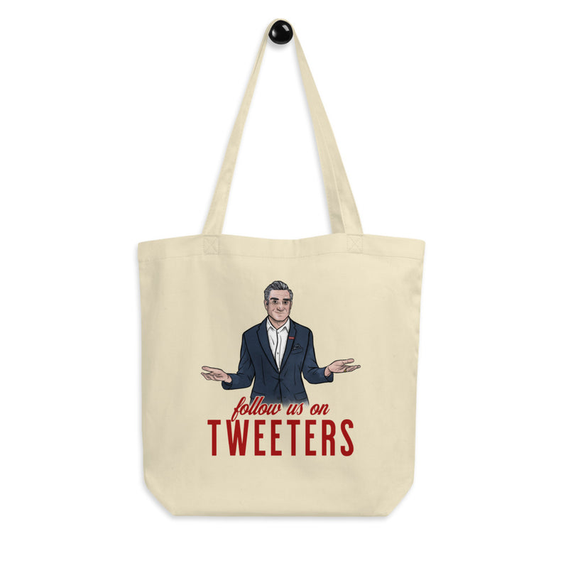 FOLLOW US ON TWEETERS Eco Tote Bag