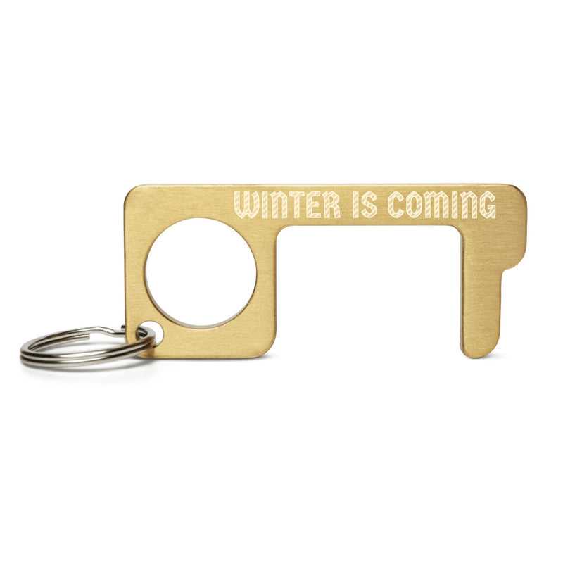 WINTER IS COMING Engraved Brass Touch Tool
