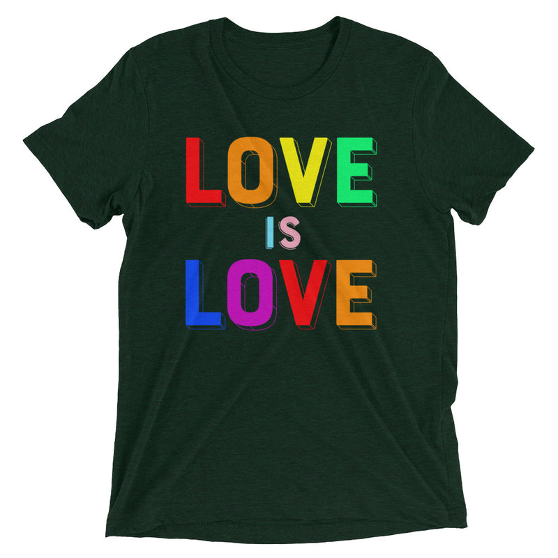 LOVE IS LOVE, 2 Unisex T-shirt