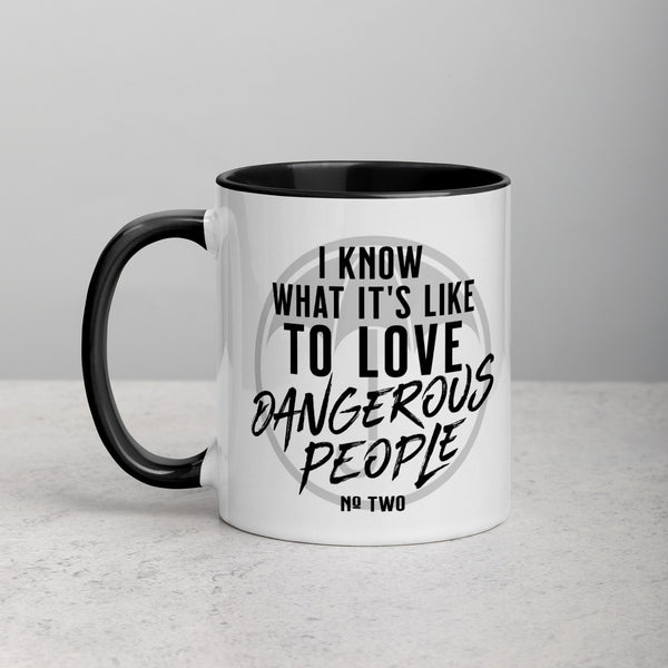 I KNOW WHAT IT'S LIKE Mug with Color Inside