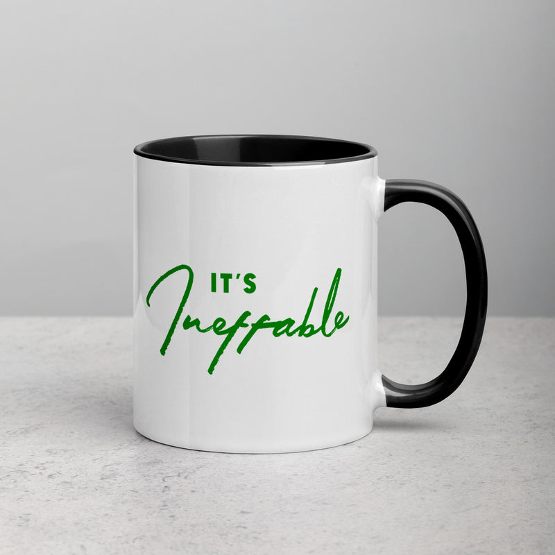 IT'S INEFFABLE Mug with Color Inside