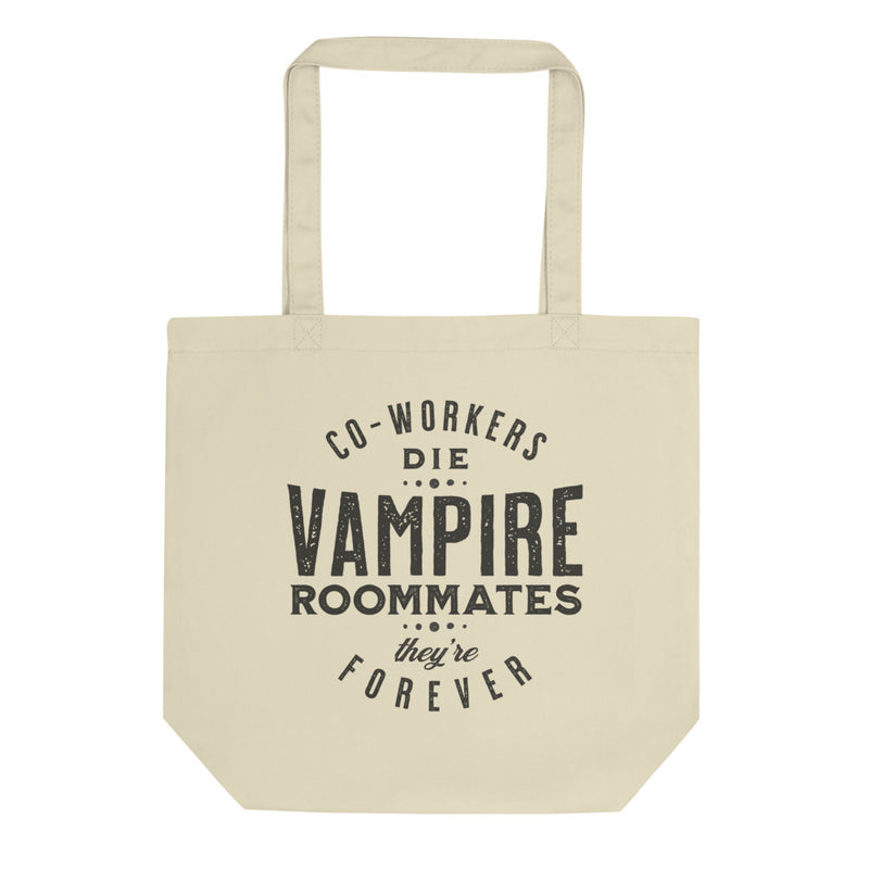 VAMPIRE ROOMMATES, THEY'RE FOREVER Eco Tote Bag