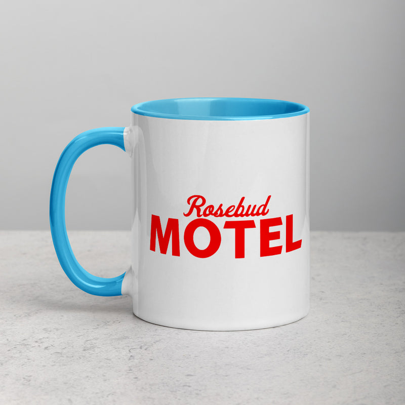 ROSEBUD MOTEL Mug with Color Inside