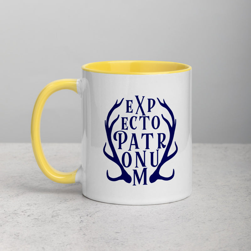 EXPECTO STAG Mug with Color Inside