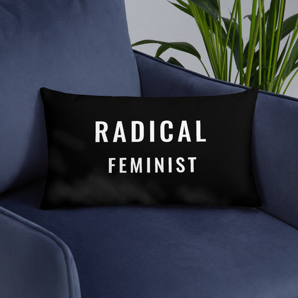 RADICAL FEMINIST Basic Pillow