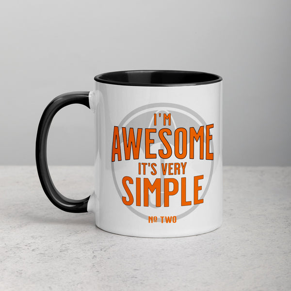 I'M AWESOME Mug with Color Inside