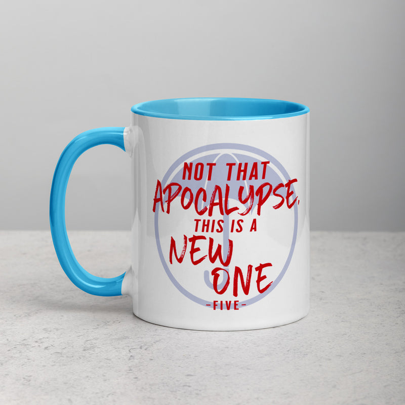 NOT THAT APOCALYPSE Mug with Color Inside