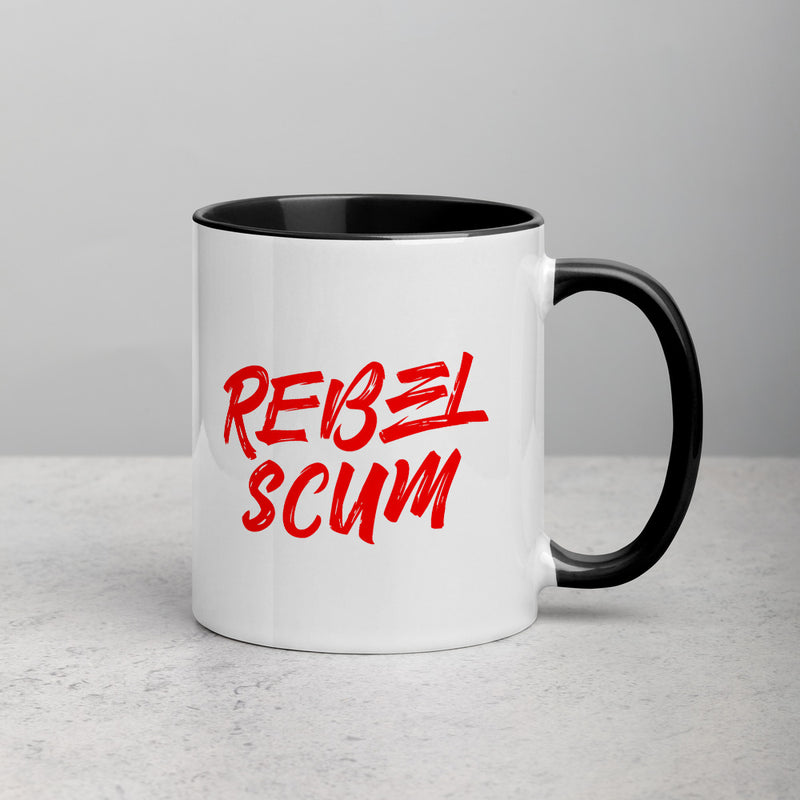 REBEL Mug with Color Inside