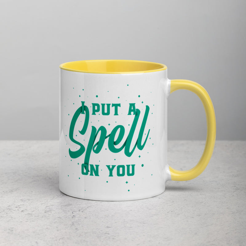 I PUT A SPELL ON YOU Mug with Color Inside