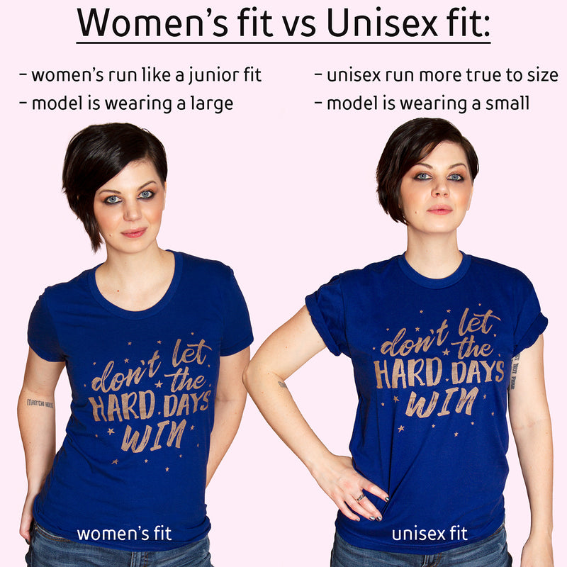 YA BASIC Women/Junior Fitted T-Shirt