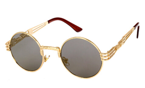 Vintage Retro Round Mirror Sunglasses