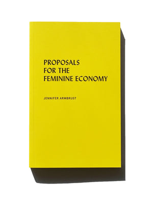 Proposals for the Feminine Economy