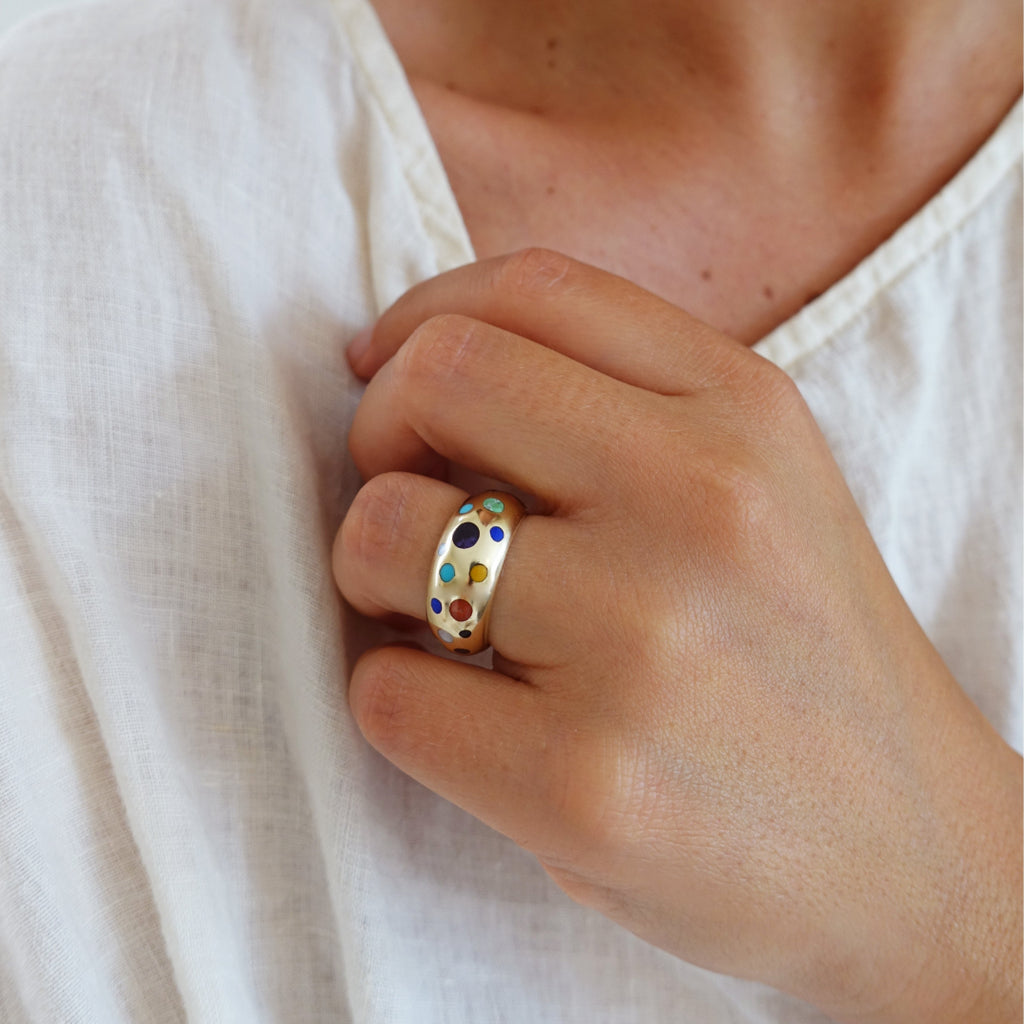 Made-to-Order Moon Ring