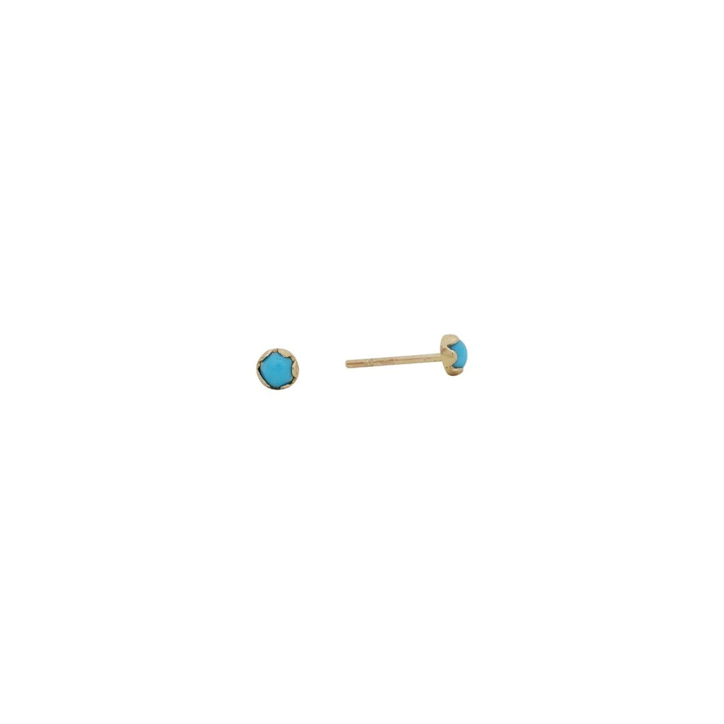 small turquoise buttons