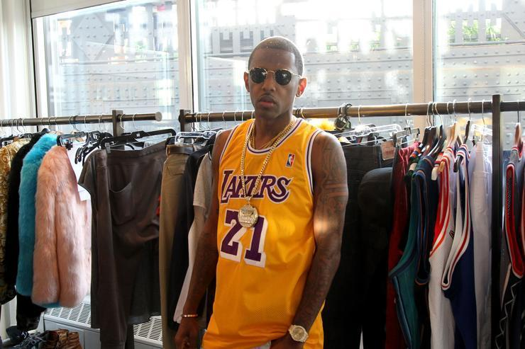 Top 15 Movie Throwback Jerseys Worn By Fabolous