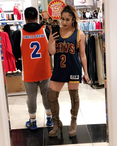 4c77a8359d07 ... Uncle Drew gathers his former basketball squad to play for the Harlem  Buckets. Maybe we will see Fabolous rocking this basketball jersey next.