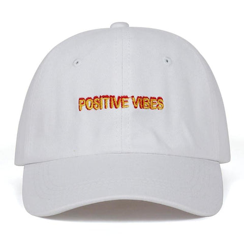 Positive Vibes Dad Hat Embroidered Baseball Cap