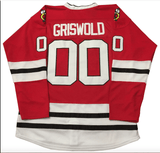 Clark Griswold Christmas Vacation Hockey Jersey Red